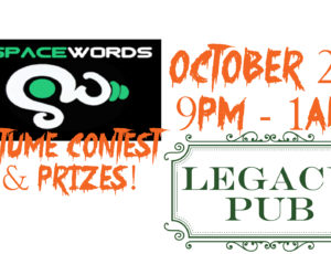 Legacy Pub Rocks Halloween With SpaceWords October 29!