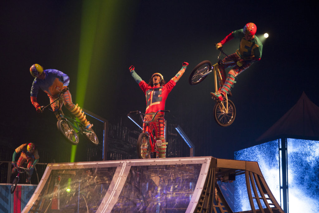CIRQUE DU SOLEIL PRESENTS LATEST PRODUCTION VOLTA
